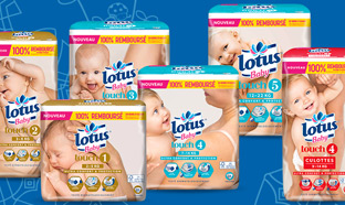 Test de couches Lotus Baby Touch