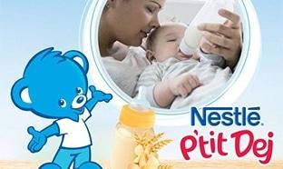Test Les Initiés : lots gratuits de packs de Nestlé P'tit Dej