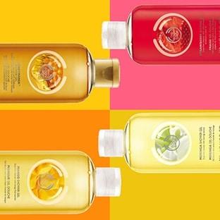 Promo : 4 gels douche The Body Shop à 6,60€ au lieu de 28€