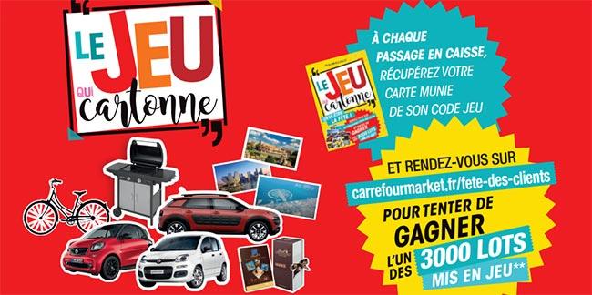 Jeu Carrefourmarket.fr/fete-des-clients