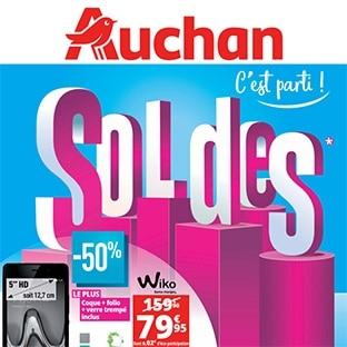 Catalogue Soldes Auchan hiver 2018 : découvrez les bons plans