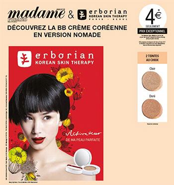 Magazine Madame Figaro + BB Crème Erborian