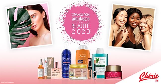 Prix Avantages de la Beauté 2020 : remportez l'un des lots de cosmétiques