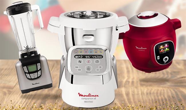 Remportez l'un des lots de robots culinaires avec Moulinex