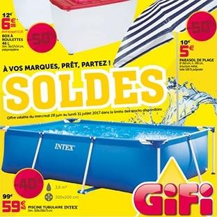 catalogue soldes gifi jusqu 39 70 de r duction piscines. Black Bedroom Furniture Sets. Home Design Ideas