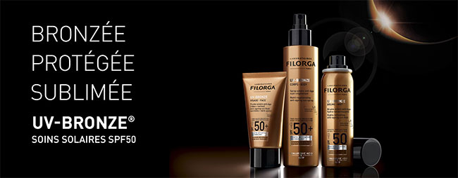 gagnez la gamme de soins UV-Bronze de Filorga