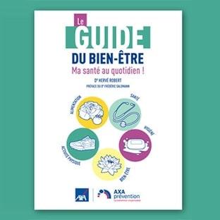 AXA Prévention : 25'000 livres Le Guide du bien-être gratuits