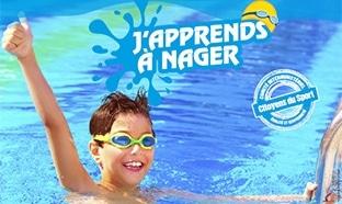 J'apprends à nager 2017 : 15 cours gratuits (assurance 15€)