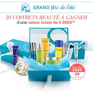 Jeu Daniel Jouvance : 20 coffrets avec 250€ de cosmétiques