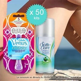Jeu Envie de Plus : 50 kits estival Venus à gagner