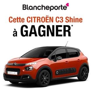 Jeu Blancheporte : 1 voiture Citroën C3 Pure Tech à gagner