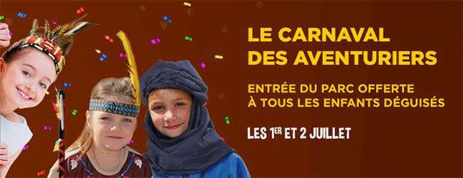 Entrée gratuite à la Mer de Sable pour les enfants déguisés