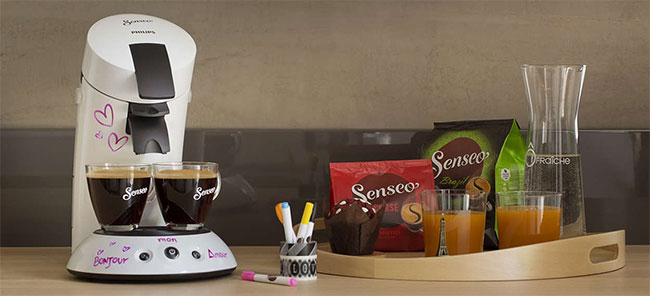 une senseo achet e 15 mois de dosettes de caf offerts. Black Bedroom Furniture Sets. Home Design Ideas