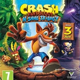 Précommande Crash Bandicoot Trilogy PS4 moins cher (29,90€)