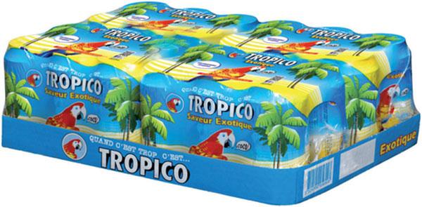réduction Leclerc : Boisson Tropico en cannette