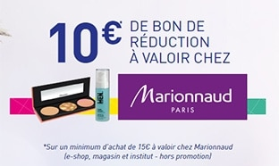 3 packs Taillefine achetés = 10€ en bon réduction Marionnaud