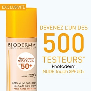 Test Bioderma : 500 Photoderm Nude Touch SPF 50+ gratuits