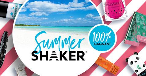 Instants gagnants Sephora Summer Shaker