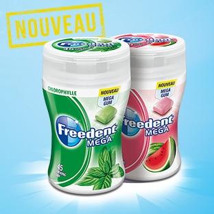Test des chewing-gums Freedent Mega : 200 paquets gratuits