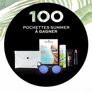 Jeu Stylist Summer : 100 pochettes de 5 produits de beauté