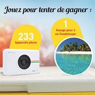Jeu Carrefour Pepsico : 1 voyage et 232 Polaroids à gagner
