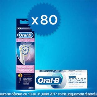 Jeu Envie de Plus : 80 kits Duo Expert Oral-B à gagner