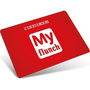 Myflunch carte fidélité activation