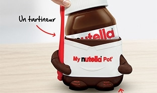 Etui Nutella avec tartineur offert dès 2 pots achetés
