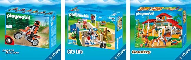 Les Playmobil en promo grâce aux vignettes Carrefour