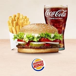 Burger King : Gros burger mystère à 2.90€ seulement