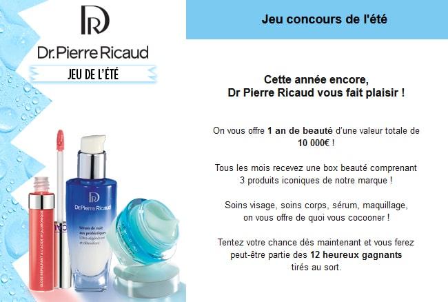 cadeaux jeu Dr. Pierre Ricaud