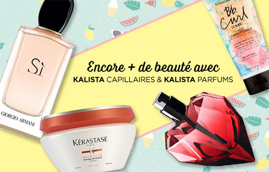 remportez l'un des 45 lots beauté avec Kalista et Elle
