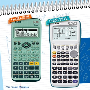 GRAPH TÉLÉCHARGER 35+ CASIO CALCULATRICE