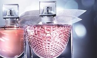 Échantillon gratuit du parfum Lancôme La vie est belle L'Eclat