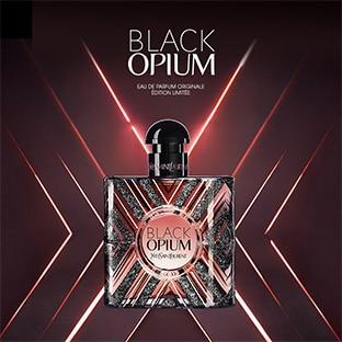 Échantillon gratuit du parfum Black Opium Pure Illusion