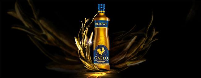 recevez gratuitement une bouteille d'huile Gallo Réserve