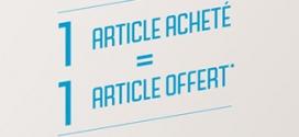 Bon plan Gémo : 1 article acheté = 1 gratuit