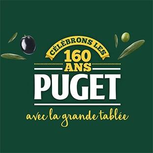 Jeu Anniversaire Puget 160 ans : 167 dotations à remporter