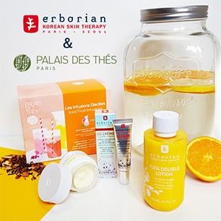 Jeu Erborian / Palais des thés : 50 kits Hydratation à gagner