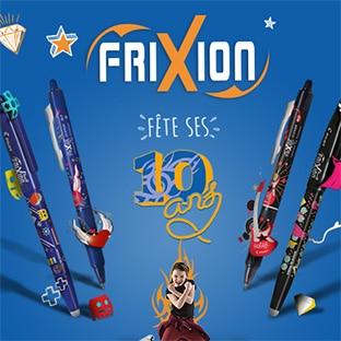 Jeu Frixion (52 lots) et offres de remboursement (stylos gratuits)