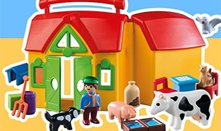 Jeu Magicmaman : 30 fermes avec animaux Playmobil à gagner