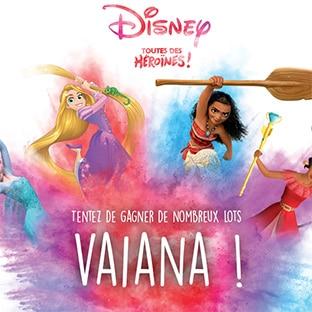 Jeu Picwic Disney Toutes des Héroïnes : 25 cadeaux Vaïana