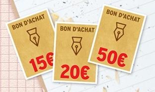 Jeu rentrée Intermarché : 385 bons d'achat de 15€ à 50€