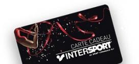 Jeu Rentrée des classes Intersport : 50 cartes cadeaux de 100€