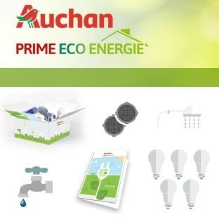 Kit Eco Energie Auchan gratuit : Coffret de 10 produits offerts