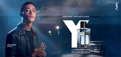 dose d'essai de Y, la nouvelle fragrance masculine d'YSL