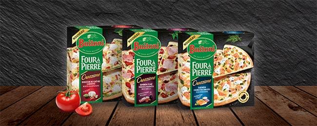 Four à Pierre Creazione de Buitoni