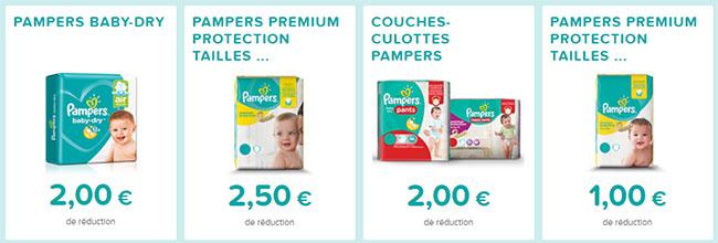 Bons de r duction pampers imprimer echantillons club - Bon de reduction couches pampers ...