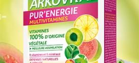 Test Arkopharma : 700 cures Arkovital Pur'Energie gratuites