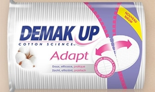 Test des cotons Demak'Up Adapt : paquets gratuits